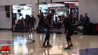 Paul George Shooting Workout Post Clippers Practice. HoopJab NBA