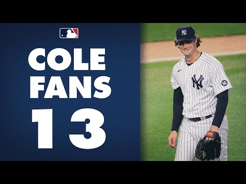 Gerrit Cole DOMINATES the Orioles with 13 Strikeouts! (Including 101 mph fastball!)