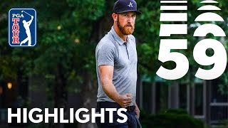 Kevin Chappell's 59 at The Greenbrier 2019