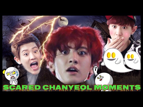 Exo Chanyeol is scared of everything!