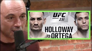 Joe Rogan on Max Holloway vs. Brian Ortega