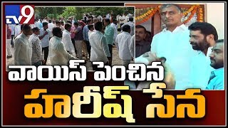 Harish Rao felicitated by fans and followers..