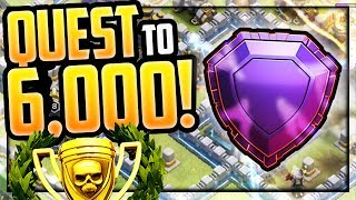 The QUEST to 6000 TROPHIES in Clash of Clans - Town Hall 12!