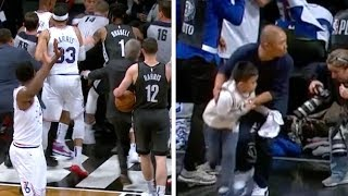 DAD OF THE YEAR! | Nets vs. Sixers Game 4