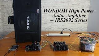 Best DIY 600 Watt Amplifier Board | TAS5630 - Steve Willson