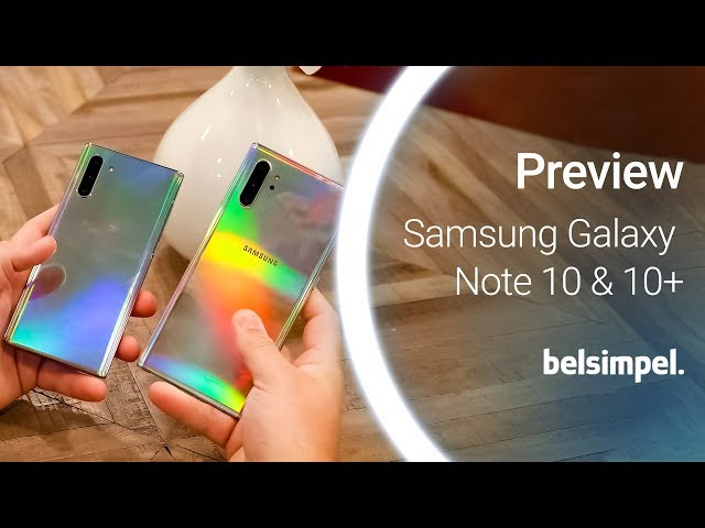 Belsimpel-productvideo voor de Samsung Galaxy Note 10+ 256GB N975 Black