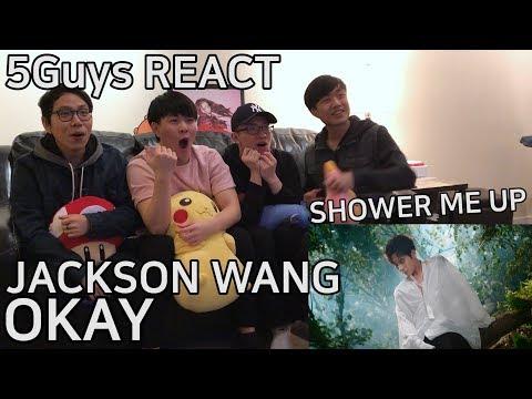 [FANBOY ALERT] Jackson Wang - OKAY (5Guys MV REACT)