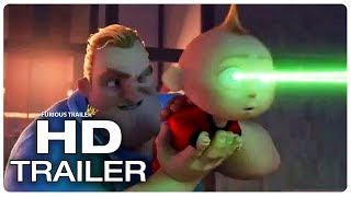 INCREDIBLES 2 Mr. Incredible Uses Jack Jack To Shoot Lasers Trailer (NEW 2018) Superhero Movie HD