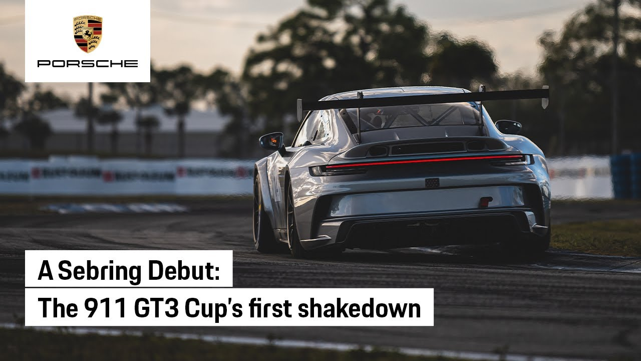 The Porsche 911 GT3 Cup Takes its First Big Test