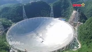 """Trung quốc tham vọng """"bắt"""" người ngoài hành tinh bằng kính viễn vọng lớn nhất thế giới"""
