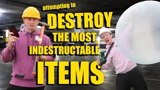 I TRIED DESTROYING INDESTRUCTIBLE ITEMS OFF AMAZON!!
