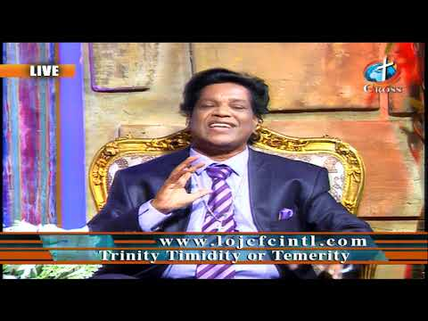 Trinity Timidity or Temerity Dr. Dominick Rajan 10-02-2020