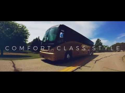 Luxury Charter Bus Travel - Arrow Stage Lines Exclusive