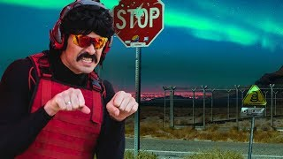 DrDisrespect drives to AREA51 and finds the TRUTH