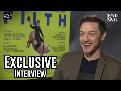 James McAvoy Interview - Filth - YouTube