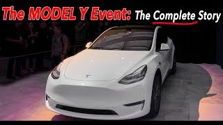 Tesla Model Y Event - The COMPLETE story