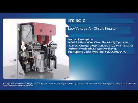 ITE KC-G Low Voltage Air Circuit Breaker