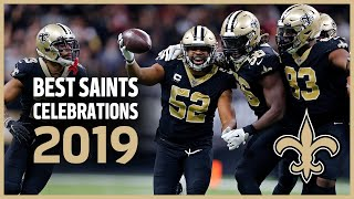 Best Saints Celebrations from 2019   Behind the Celly   New Orleans Saints