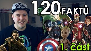 120 FAKTŮ SPECIÁL - Marvel superhrdinové (MCU část 1.)