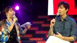 [HD] Lee MinHo Live in Manila: Learning the Language (Korean,Tagalog,English)