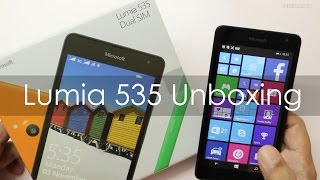 Microsoft Lumia 535 Windows Phone Unboxing & Hands On Overview