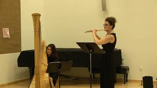 Sicilienne by Gabriel Faure for Flute and Harp
