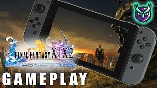 Final Fantasy X Switch Gameplay Docked and Handheld!