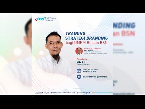 https://www.youtube.com/watch?v=sx5uM3_GdTATraining Strategi Branding Bagi UMKM Binaan BSN