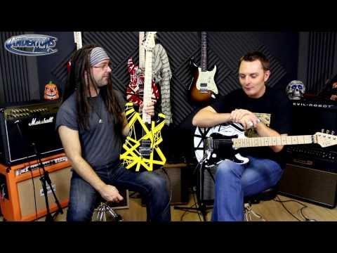 EVH Striped Tribute Guitars - New for 2013
