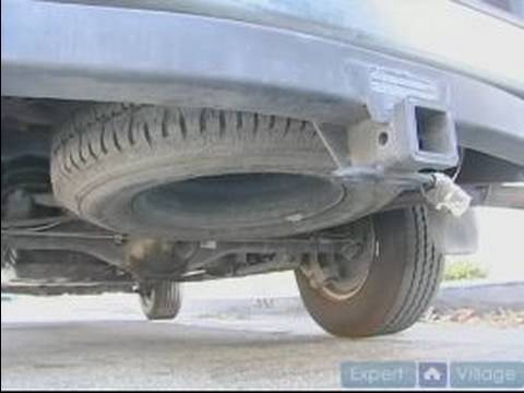 How To Change A Flat Tire How To Remove A Spare Tire