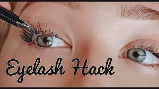 Reverse Eyelash Hack | Does it work?