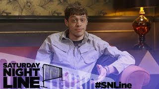 Saturday Night Line: SNL's Pete Davidson Plays Two Truths and a Lie with Fans