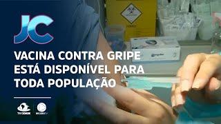 Vacina contra gripe está disponível para toda população