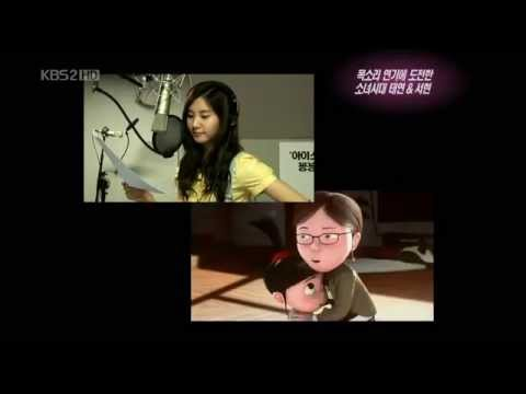 Taeyeon and Seohyun will dub once again for the 2nd movie of Despicable Me