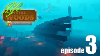Life In The Woods (A Minecraft Adventure) - EP03 - A Dangerous Dive!