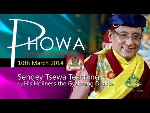 Sengey Tsewa Teaching (English&Vietnamese) - 10th March by HH Gyalwang Drukpa