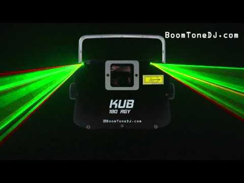 Vidéo BoomToneDJ - KUB 190 RGY