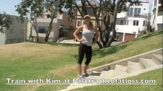 Stair Workout with Trainer Kim Lyons