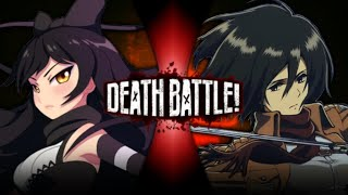 Blake VS Mikasa (RWBY VS Attack on Titan) | FMDBNT