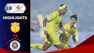 Highlights | Nam Định FC – Hà Nội FC | Mãn nhãn Thiên Trường ngày khai màn V.League 2021 | VPF Media