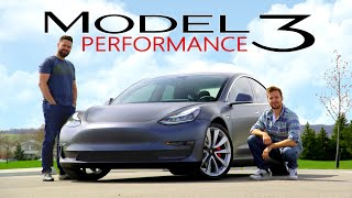 2019 Tesla Model 3 PERFORMANCE Review // Fast As Duck