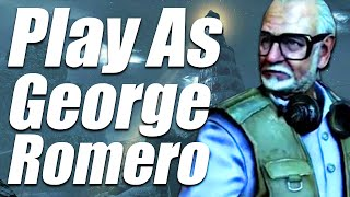 PLAYING AS GEORGE ROMERO - CALL OF THE DEAD (Call of Duty: Black Ops Zombies)