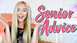 Senior Year Advice   Advice For Seniors In High School