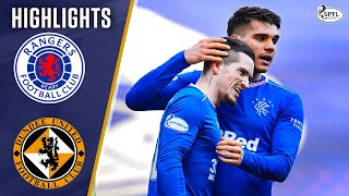 Rangers 4-1 Dundee United   Four Goals as Rangers Close in on Title!   Scottish Premiership