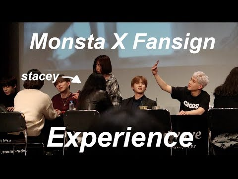 MONSTA X FANSIGN EXPERIENCE -Vlog