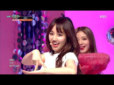 뮤직뱅크 Music Bank - Q&A - Cherry Bullet(체리블렛) .20190125