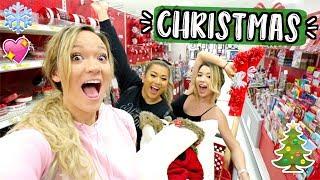 Girls Christmas Shopping at Target! Vlogmas Day 3!!