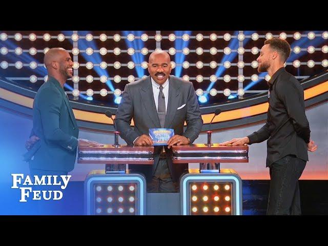 Steph Curry & Chris Paul face off!