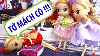Chibi đỏ đi học bị bạn bè bắt nạt - B198M - Nữ hoàng búp bê baby doll