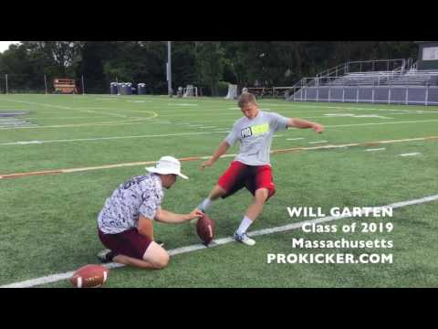 Will Garten, Ray Guy Prokicker.com Kicker Punter, Class of 2019